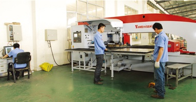 Annual production of various kinds of aluminium-plastic sheets can reach more than 3 million square